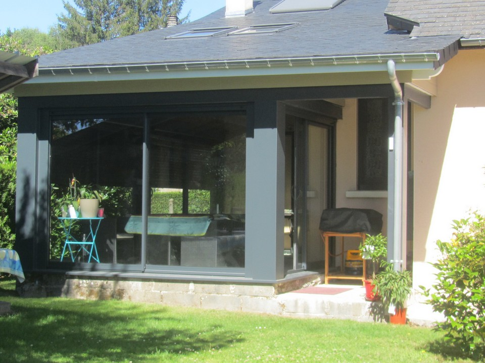 poteau aluminium pour veranda abri terrasse bas prix with. Black Bedroom Furniture Sets. Home Design Ideas